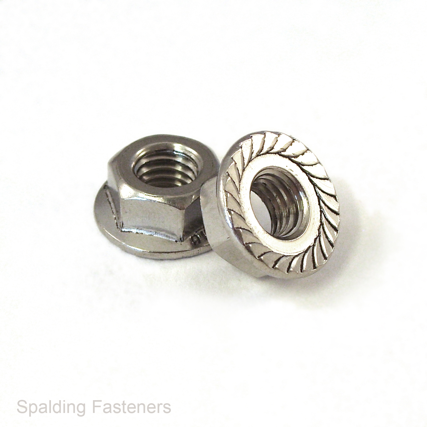 Stainless Steel Hex Flange Nut Serrated UNF 5//16-24 Qty 250